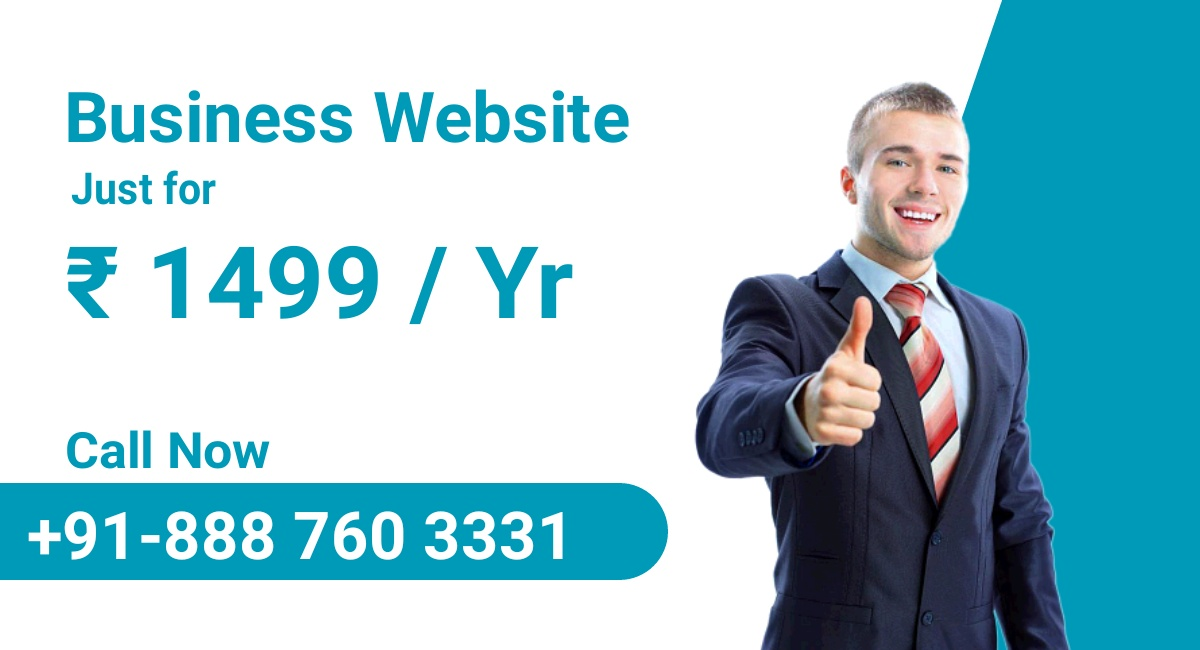 Business Website For Just   999 , Website , Business Develop , Free .co.in Domain 